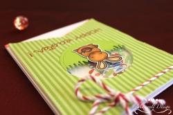 Hoppy Easter Shaker Karte